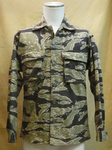 60s VIETNAM WAR TIGER STRIPE SHIRTS(A-M)